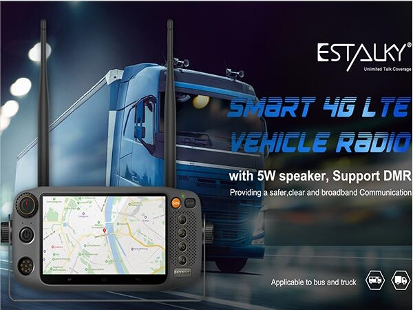 Estalky new release 4g lte mobile radio , 5W Speaker ,support DMR function, android system