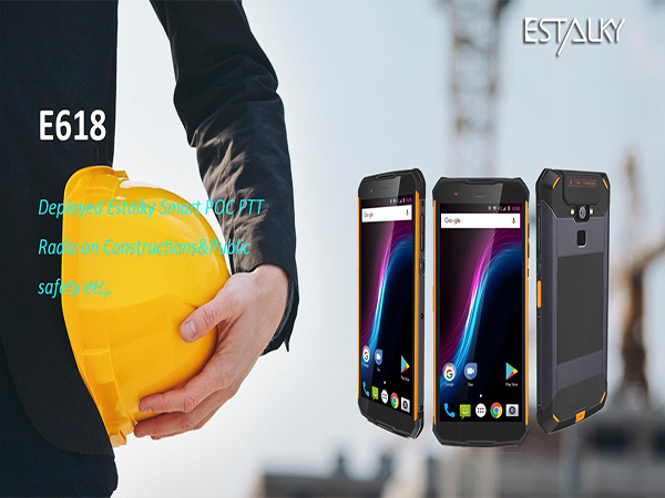 Estalky Toughest and Reliable 4G Smart PTT Phone(E618) with Exquisited PTTbutton and SOS button