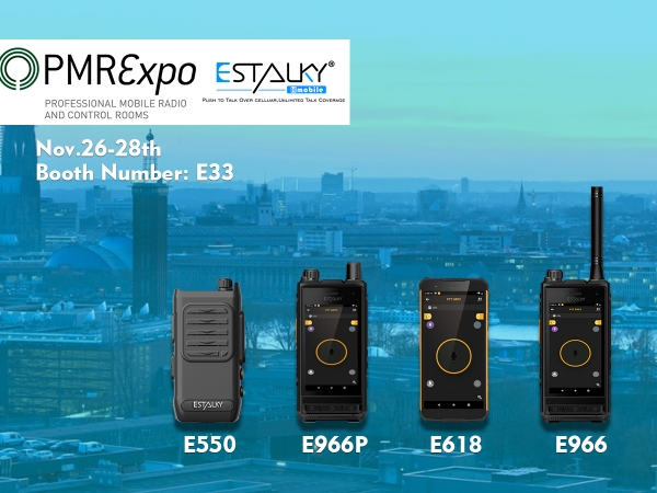 Estalky made his first appearance at PMRExpo2019 in Colonge,Germany